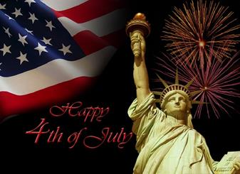 Parish Office Closed - 4th of July Holiday