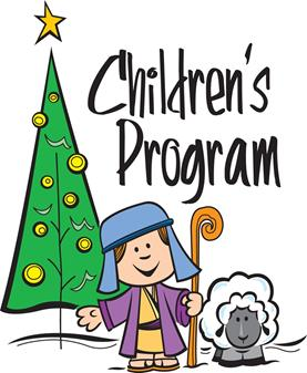 Children's Christmas Pageant - Sat., December 14 at 5 pm