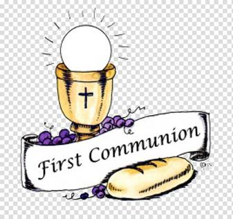 First Holy Communion Mass - Sunday, June 14 --- Mass will be held indoors