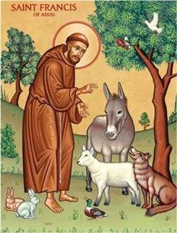 St. Francis of Assisi - Blessing of Animals - Oct. 4th