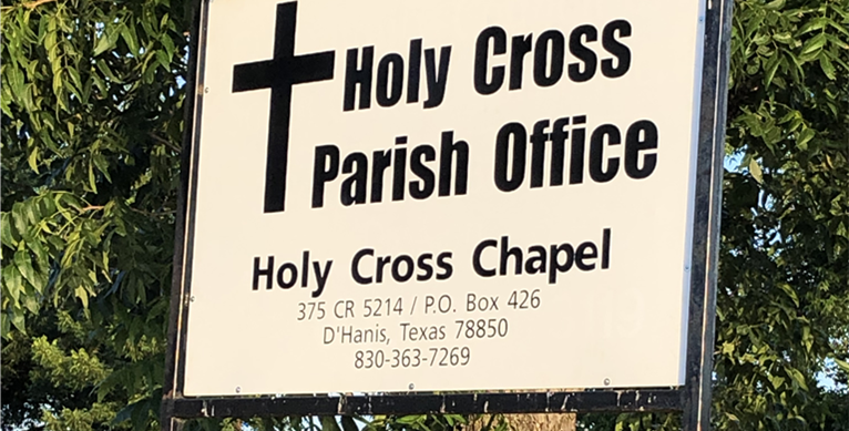 Parish Office Sign